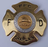 No more crosses on police chaplain badges