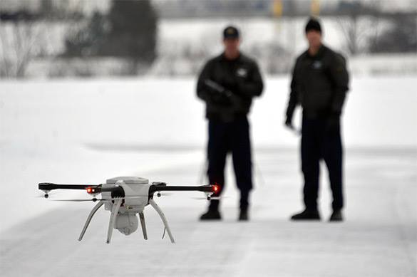 US cops to use drones to disperse protestants. USA