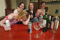 Women are best at developing alcohol and drug addiction