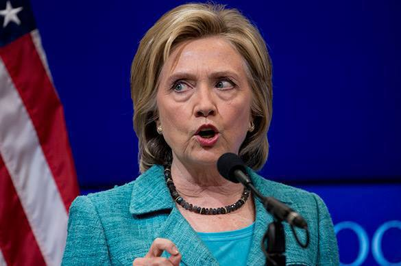 New US leader should defeat IS, Putin, and Ebola, Clinton says. Hillary Clinton