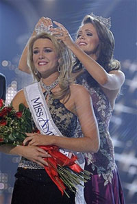 Lauren Nelson from Oklahoma wins Miss America crown