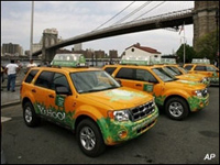 NYC's yellow cabs to become green by 2012