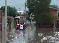 Mini-tsunami engulfs Mexican village