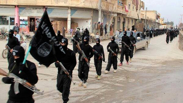 The US-ISIS cooperation. ISIS
