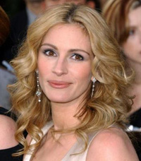 Julia Roberts heads list