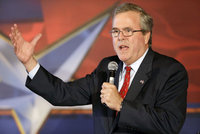 Jeb Bush: Jesus Christ would be perfect Republican president in 2016. Jeb Bush as Jesus Christ