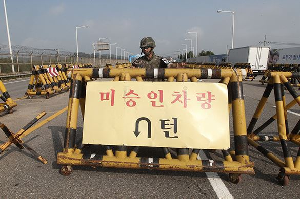 Peace had a short run: Seoul renews military operations on North Korean border. Korea