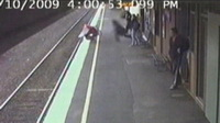 Baby Survives Miraculously as Stroller Falls under Moving Train