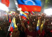 Chavez's red wave sweeps across Venezuela