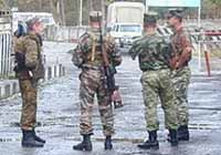 Georgian authorities detain 5 Russian military officers accused of spying, Moscow protests