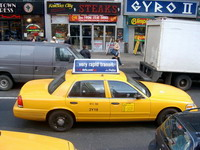 New York City cabbies strike for 2nd time to protest new rules