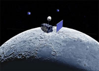 Japan's lunar probe reaches Moon orbit
