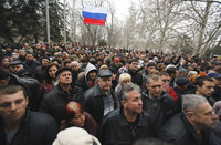 Explosion occurs near Crimean Parliament amid two mass rallies. 52243.jpeg