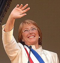 Michelle Bachelet changes education law