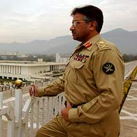 Presidential election in Pakistan ends with Gen. Pervez Musharraf's absolute victory
