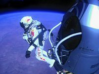 Stratosphere jumper delivers priceless information to scientists. 48247.jpeg
