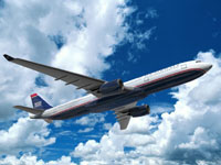 US Airways trims capacity by 2 percent for second half of 2007