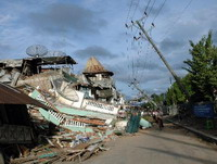 Earthquakes in Indonesia cause tsunami