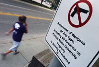 US students demand guns