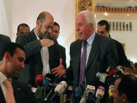 Hamas and Fatah formalize reconciliation agreement in Cairo. 44252.jpeg