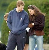 Prince William and Kate Middleton back together