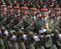 Chinese army nears USA's borders