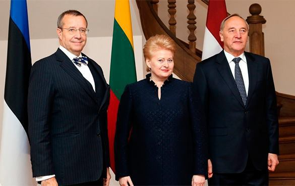 Judas of Baltic States betray their peoples and national interests of their countries. Baltic leaders are not Baltic