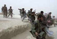 Afghan soldiers kill seven Taliban militants