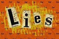 Lies control our doings