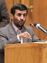 President Ahmadinejad cut short his two-day visit to Armenia