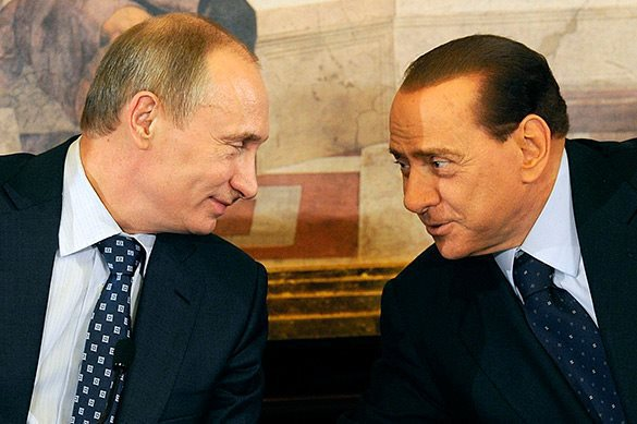 Putin to meet with Berlusconi in Crimea. Putin and Berlusconi