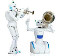 Toyota demonstrates new violin-playing robot