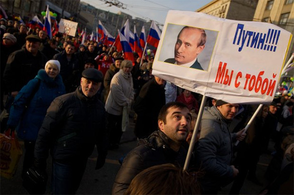 Most Russians want Putin as Russian President after 2018. 59261.jpeg