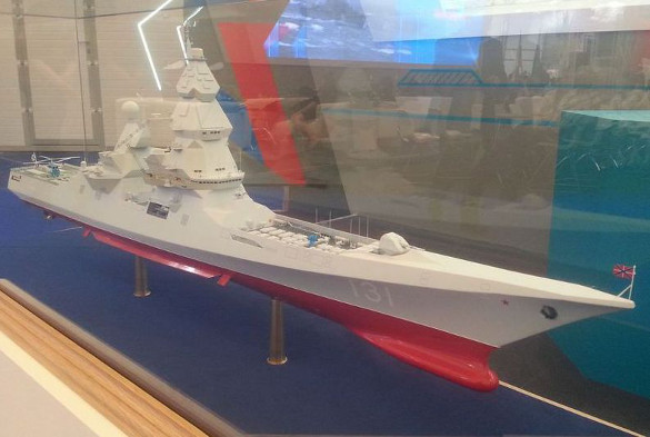 Russia to build largest and super powerful destroyer since 1989. Model of Russian Leader destroyer