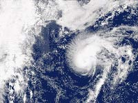 Tropical storm Humberto sets record in becoming hurricane