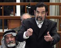 Saddam Hussein's lawyers urge Iraqis to reject his genocide trial