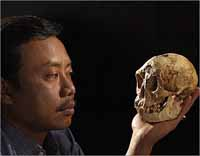 Remains of abnormally small hominid unearthed in 2003 named new species