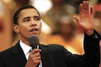 Barack Obama discourses on faith in his life