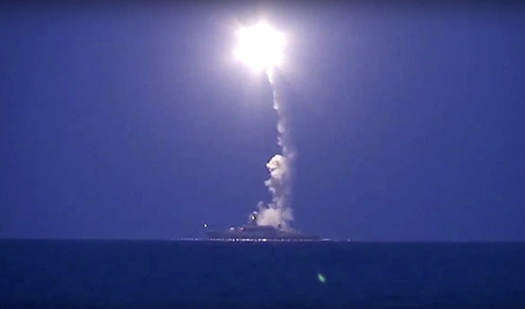 Russian submarines launch Caliber missiles on ISIL in Syria. 61266.jpeg