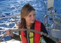 Sixteen-Year-Old Jessica Watson Sets off on Round-World Sail