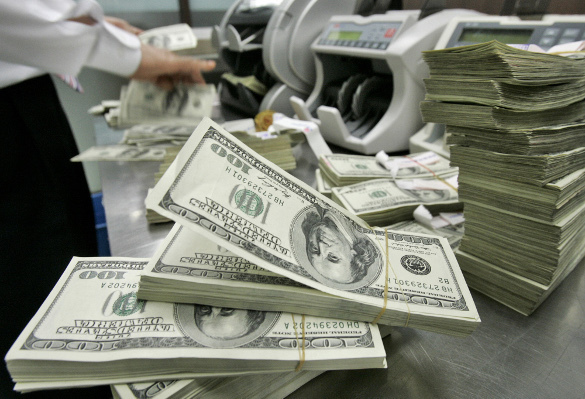 Russian ruble drops by 41 percent vs. US dollar in 2014. Russian ruble loses value