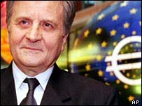 Trichet: Euro zone approaching potential growth