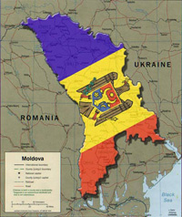 European Union wipes Moldova off its map