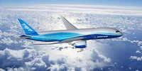 Boeing to display 787 Dreamliner