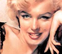 Marilyn Monroe's beauty was artificial?