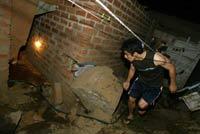 Powerful earthquake kills dozens in Peru