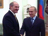 Putin to meet with Belarus' president next week