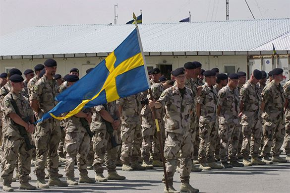 Swedes driven into NATO being scared by wars with Russia. Sweden