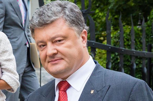Oligarch Poroshenko says oligarchs threaten Ukraine's existence. Poroshenko