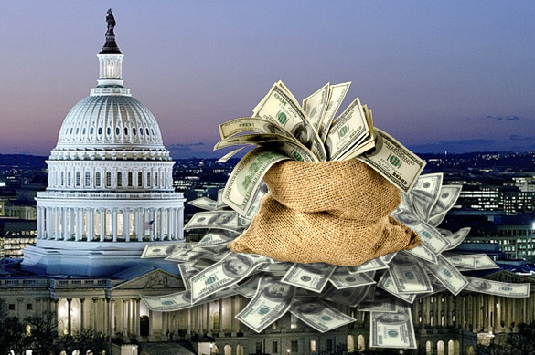 USA drops bags of money in Russia that vanish without a trace. 59278.jpeg